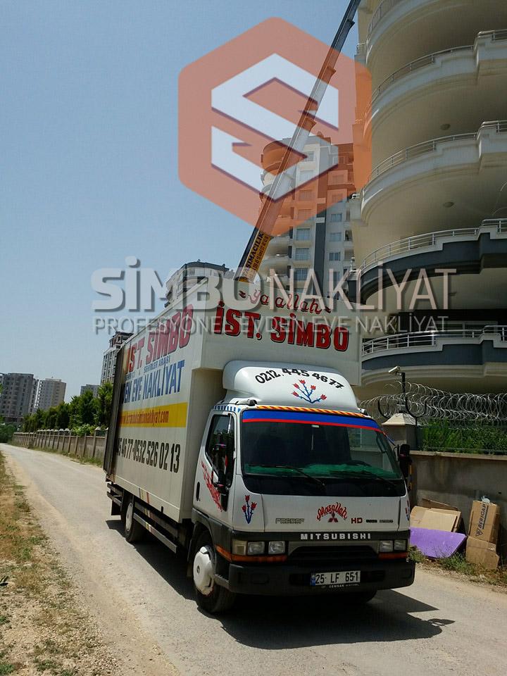Asansörlü eşya taşıma